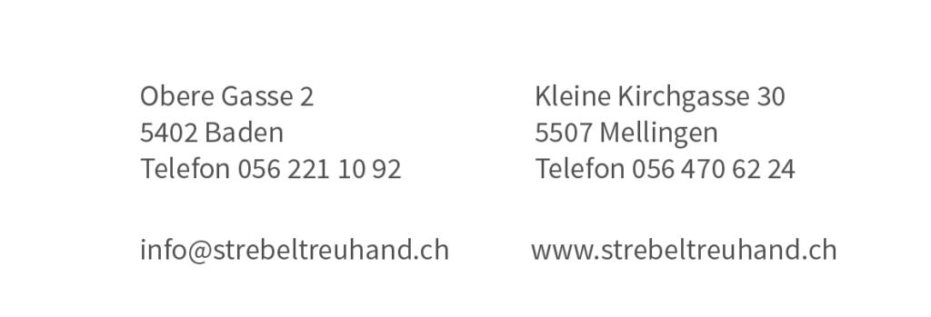 Ärzte-Treuhandbüro S. Strebel Adresse